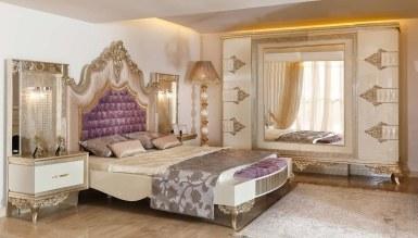 Lüks Saltane Klasik Bed Room