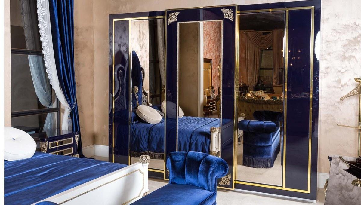 Lüks Salvo Art Deco Yatak Odası