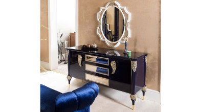 Lüks Salvo Art Deco Yatak Odası - Thumbnail