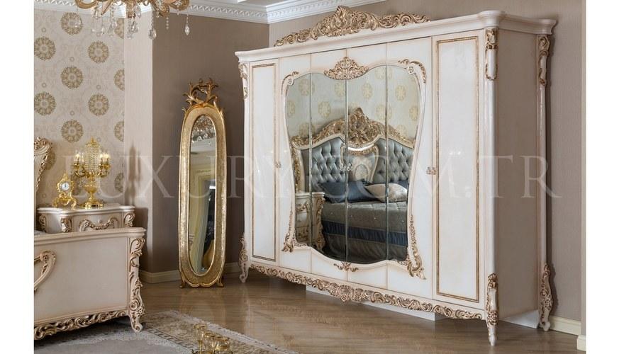 Lüks Samara Klasik Yatak Odası