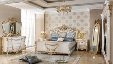 Lüks Samara Klasik Yatak Odası - Thumbnail