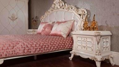 Lüks Şanlı Klasik Yatak Odası - Thumbnail