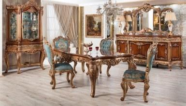 Lüks Saraylı Klasik Yemek Odası