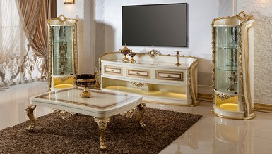 Lüks Savra Klasik TV Sehpası - Thumbnail