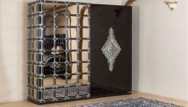 Lüks Sayanora Siyah Klasik Yatak Odası - Thumbnail