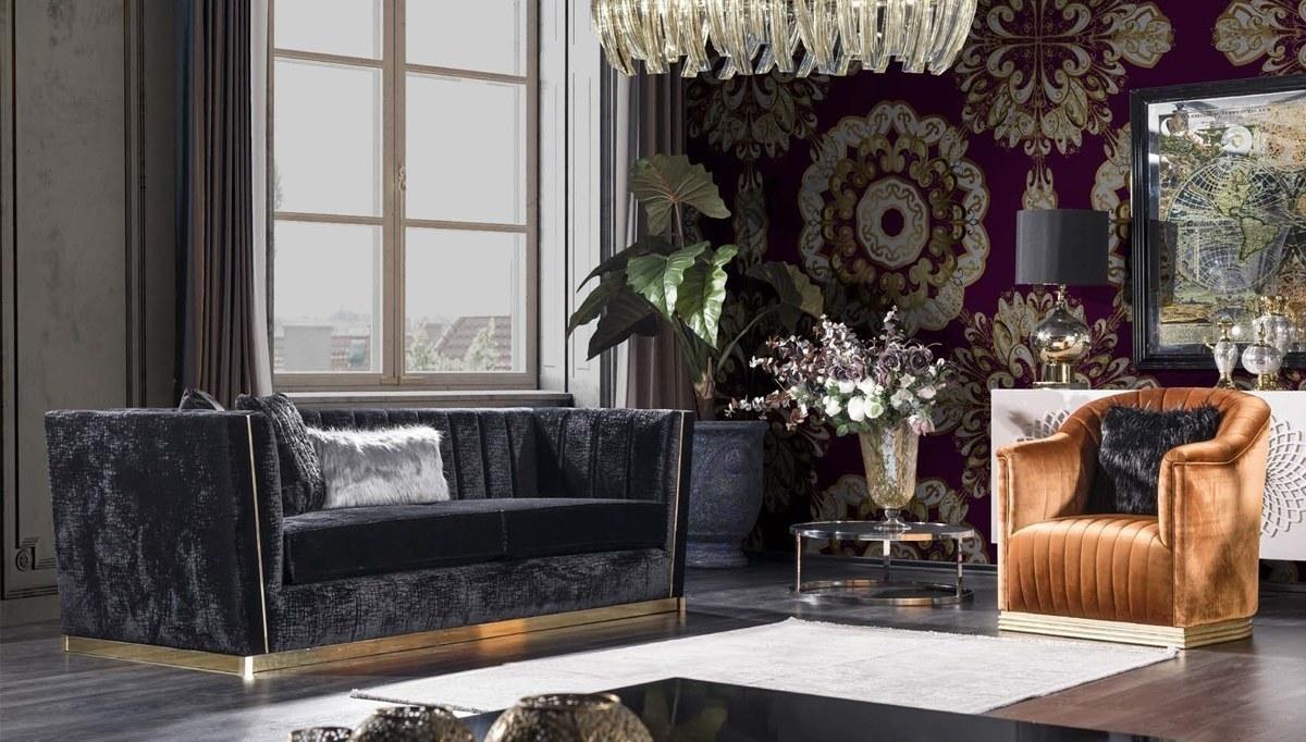 Lüks Sayedar Art Deco Koltuk Takımı