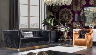 Lüks Sayedar Art Deco Koltuk Takımı - Thumbnail
