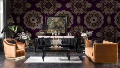 931 - Lüks Sayedar Art Deco Koltuk Takımı