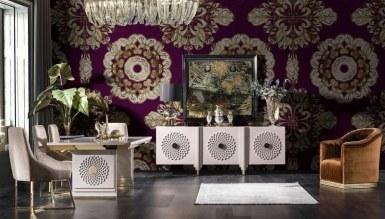 931 - Lüks Sayedar Art Deco Yemek Odası
