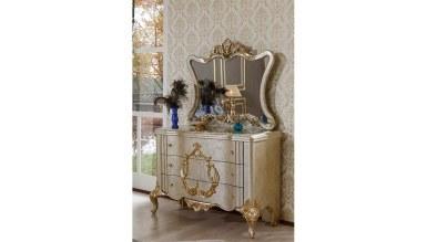 Lüks Sefela Klasik Yatak Odası - Thumbnail