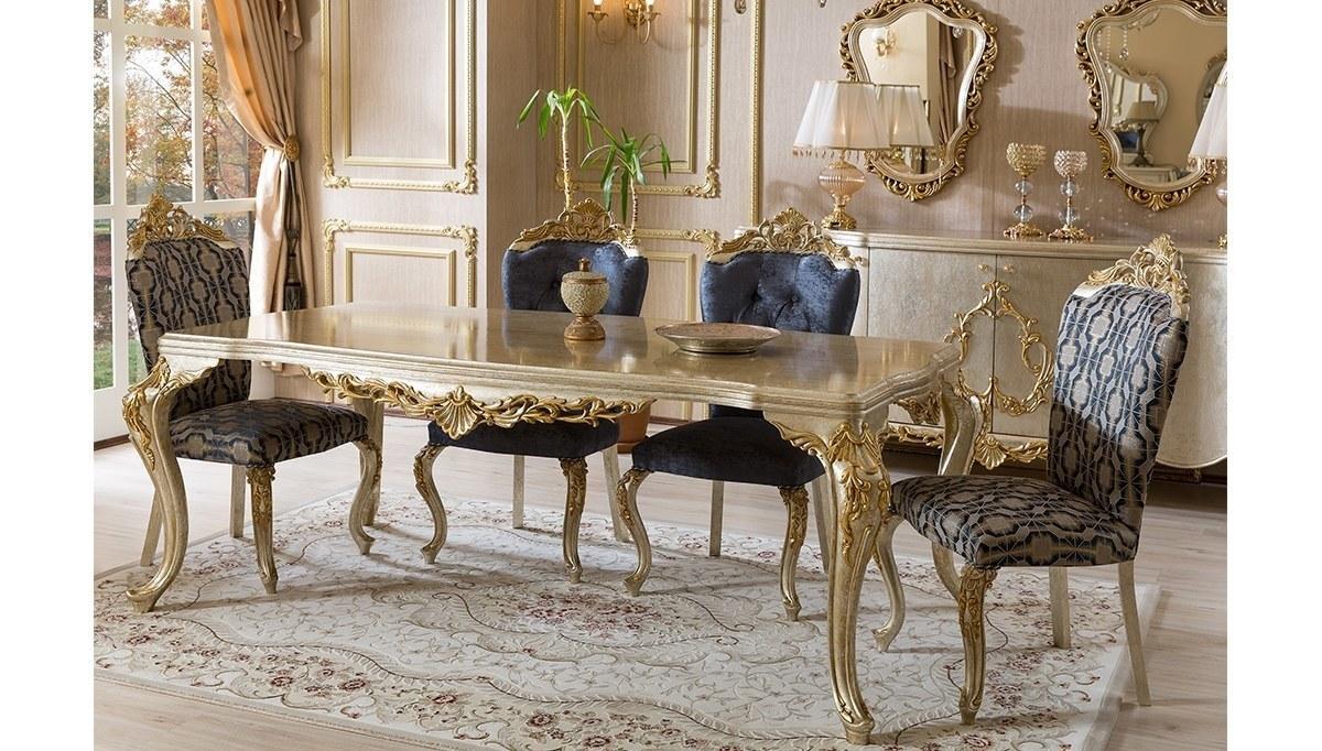 Lüks Sefela Klasik Yemek Odası