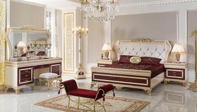 Lüks Sefora Klasik Yatak Odası - Thumbnail