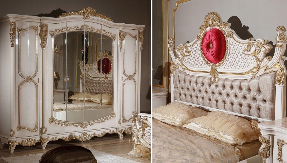 Lüks Şehnaz Klasik Yatak Odası