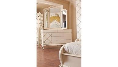 Lüks Şehrazat Klasik Yatak Odası - Thumbnail