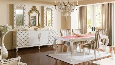 543 - Lüks Şehrazat Klasik Yemek Odası