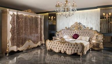792 - Lüks Selçuklu Klasik Yatak Odası
