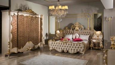 Lüks Selçuklu Klasik Yatak Odası - Thumbnail