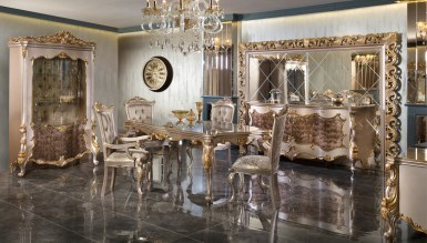 Lüks Selçuklu Klasik غرفة الطعام