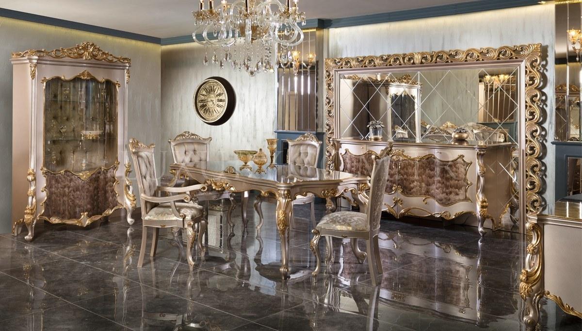 Lüks Selçuklu Klasik Yemek Odası