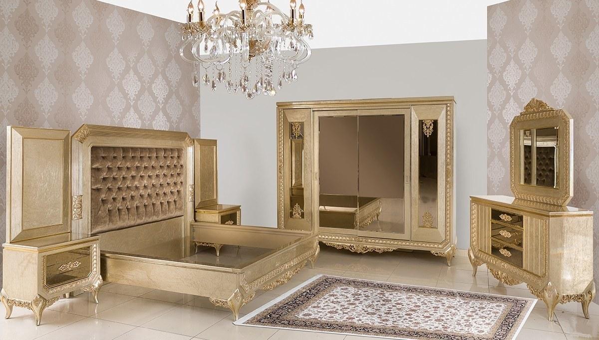 Lüks Senire Klasik Yatak Odası