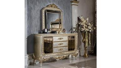 Lüks Senire Klasik Yatak Odası - Thumbnail