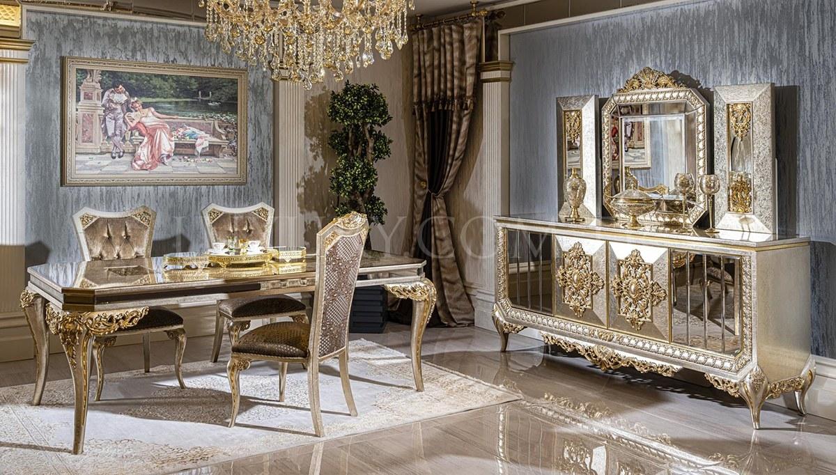 Lüks Senire Klasik Yemek Odası