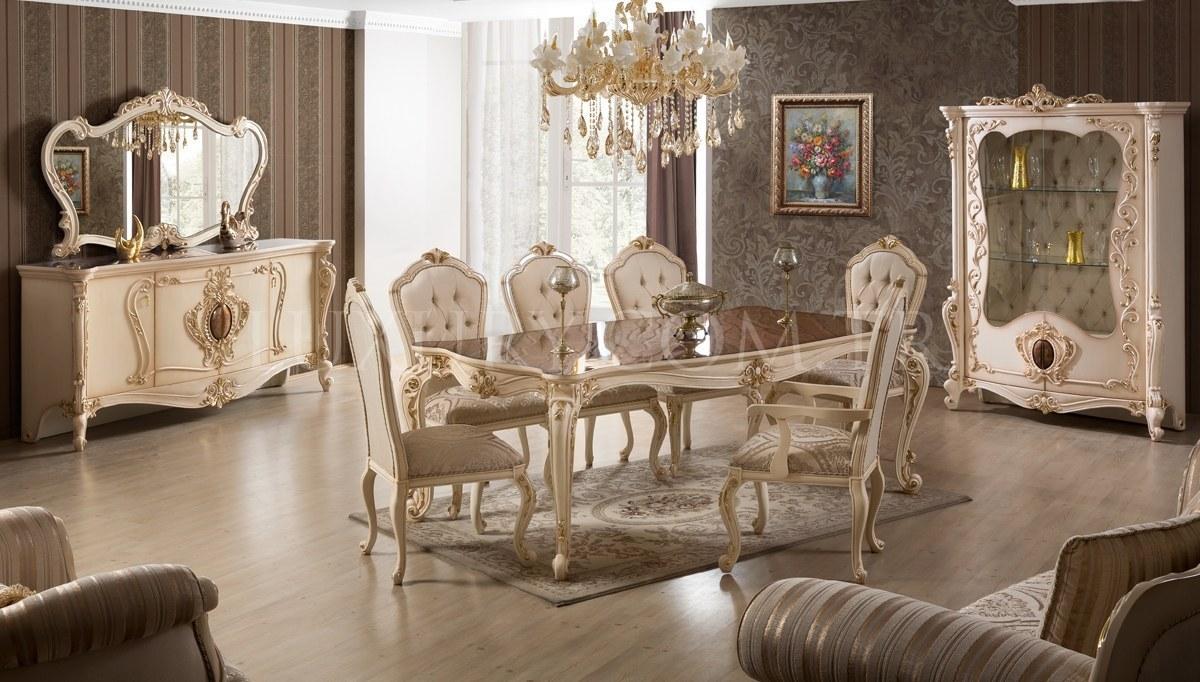 Lüks Senorita Klasik Yemek Odası
