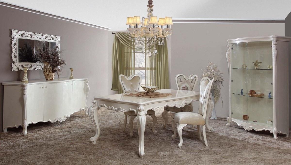 Lüks Seramon Klasik Yemek Odası