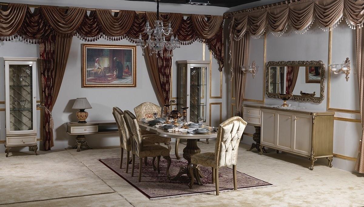 Lüks Serdi Klasik Yemek Odası