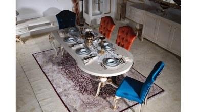 806 - Lüks Serdi Renkli Yemek Odası