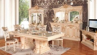 Lüks Seromi Klasik Yemek Odası