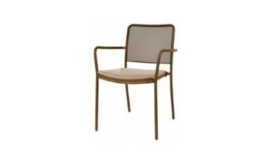Lüks Setrin Kısa Sırtlı Sandalye