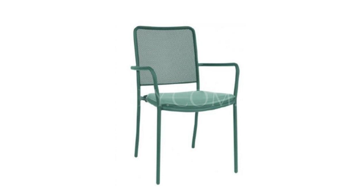Lüks Setrin Uzun Sırtlı Sandalye