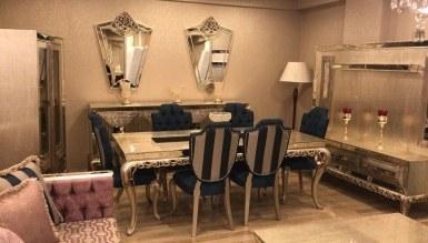 925 - Lüks Severa Klasik Yemek Odası