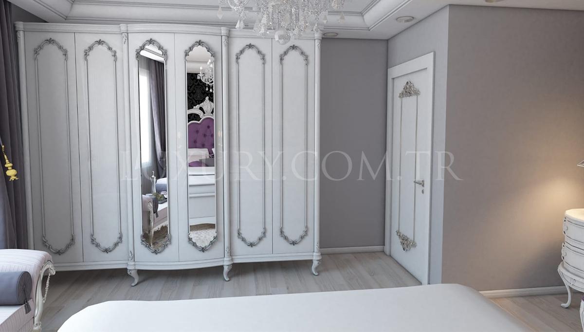 Lüks Sevilla Klasik Yatak Odası