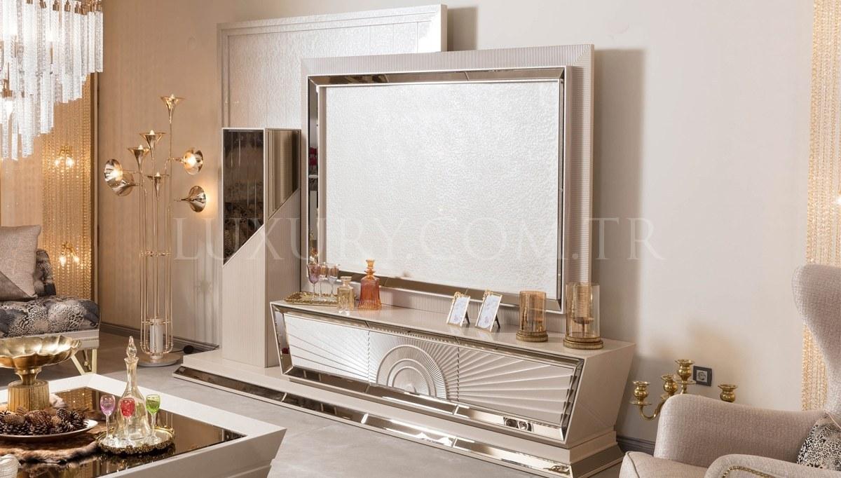 Lüks Sewena Art Deco TV Ünitesi