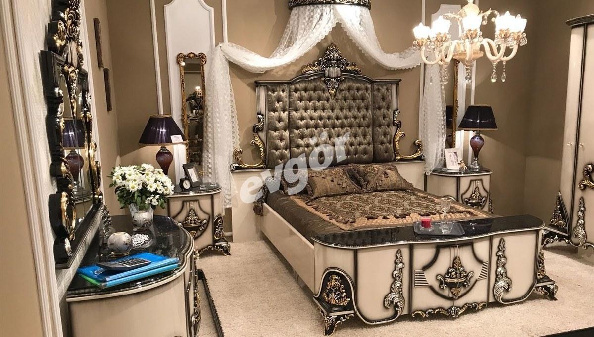 Lüks Siarna Klasik Yatak Odası