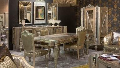 994 - Lüks Silvero Klasik Yemek Odası