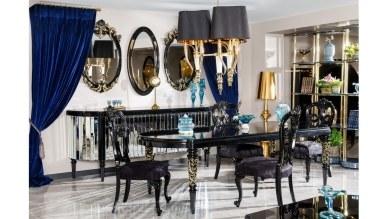Lüks Silvona Klasik Yemek Odası - Thumbnail