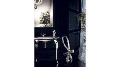 Lüks Sineres Gümüş Banyo Takımı - Thumbnail