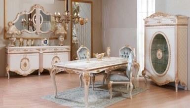 770 - Lüks Sırma Klasik Yemek Odası