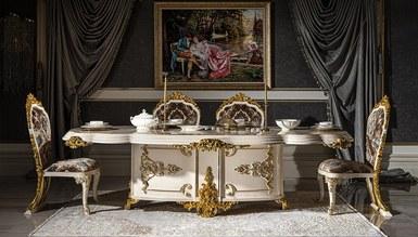Lüks Sivona Klasik Yemek Odası - Thumbnail