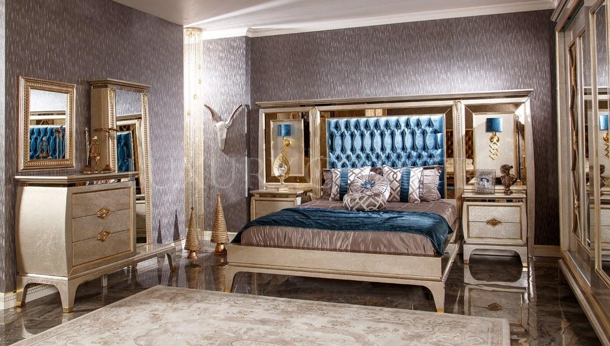 Lüks Sliven Art Deco Yatak Odası
