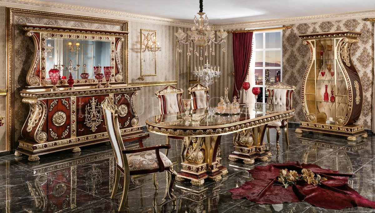 Lüks Soçi Klasik Yemek Odası