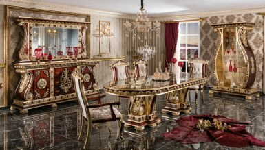 Lüks Soçi Klasik Yemek Odası - Thumbnail