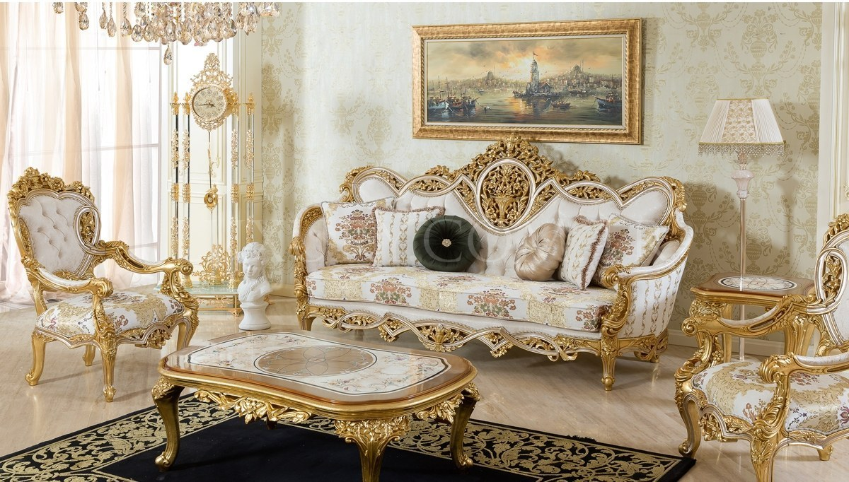 Lüks Sofena Klasik Koltuk Takımı
