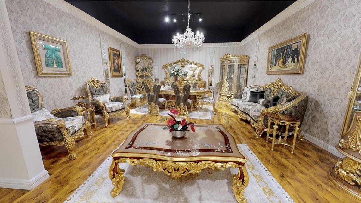 Lüks Sofia Klasik Koltuk Takımı