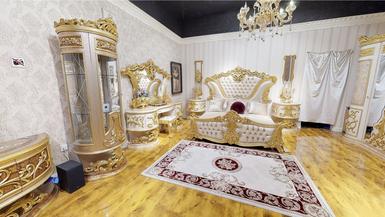 Lüks Sofia Klasik Yatak Odası - Thumbnail