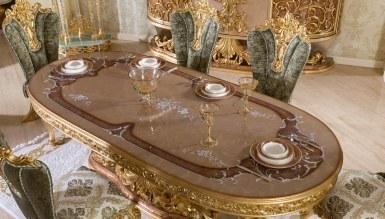 Lüks Sofia Klasik Yemek Odası - Thumbnail