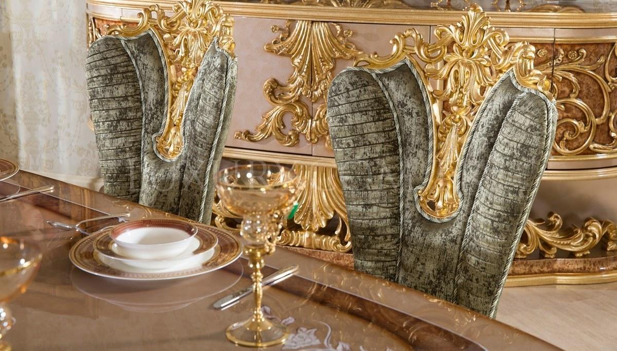 Lüks Sofia Klasik Yemek Odası